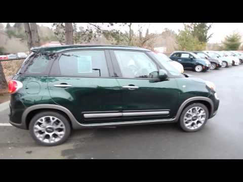 2014 Fiat 500L Trekking   forest green   EZ014621   Redmond   Seattle