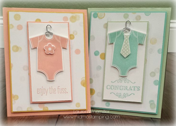 Stampin' Up! Something for Baby, Big News, Simply Wonderful, Birthdays and Baby Stamp-a-stack, baby boy, baby girl