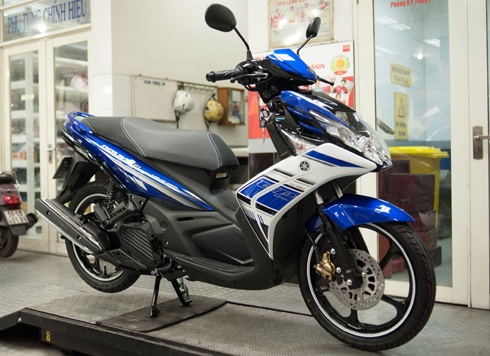Yamaha Việt Nam ra mắt Nouvo GP - Tạp Chí Xe, Xe oto, Xe moto, Kiến thức xe mô tô, xe máy, Siêu thị xe moto, xe máy