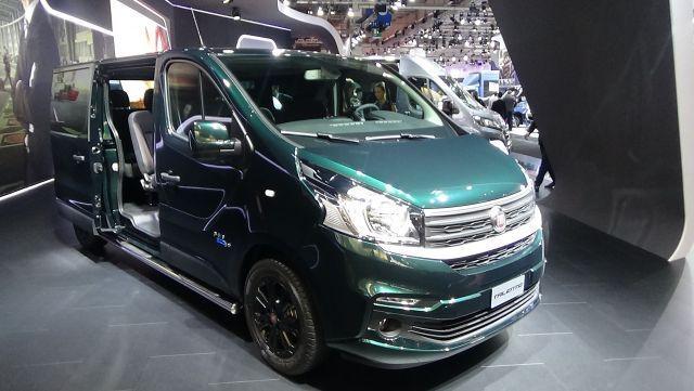 Fiat Talento Production Will Start In 2019 2019 Best Minivan Mini Van Chrysler Pacifica Fiat