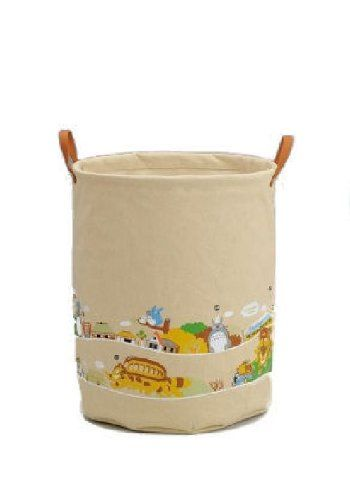 Totoro Matsugo handle laundry bag is a Studio Ghibli
