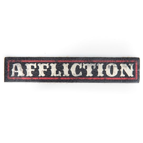 AFFLICTION LOGO LEATHER PATCH - Accessories - Mens