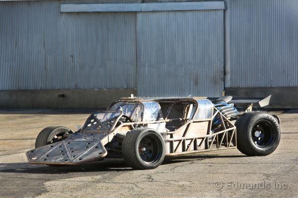 PERFECT CAR FOR ME!! The weird little ramming roadster from Fast and Furious 6 :) BAD ASS!
