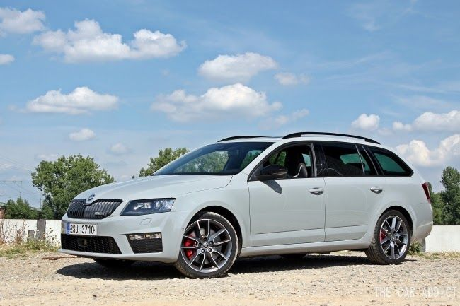 Skoda Octavia RS Combi 2013 (Steel Grey)