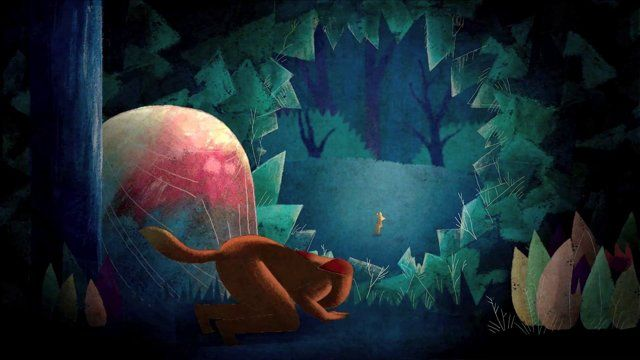 This is a teaser of Animal. It is a short film, which is telling the story about a young fox boy and a little owl girl. In a dark blue forest, those children are learning to know each other. They start to play but their wild animal instinct will be to strong for this game of hide and seek.  Animated movie by Melanie Tourneur  -  info  -  http://melanie-tourneur.blogspot.com/  Music and sound effects by The Walking Ghost Phase  -  info  -  ...