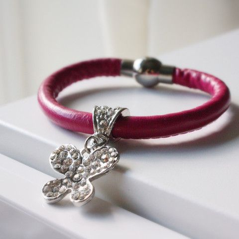 Aldora leather bracelet £16.00