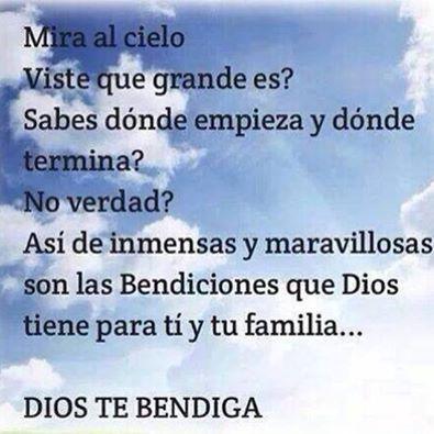 Estoy bendecida por DIOS
