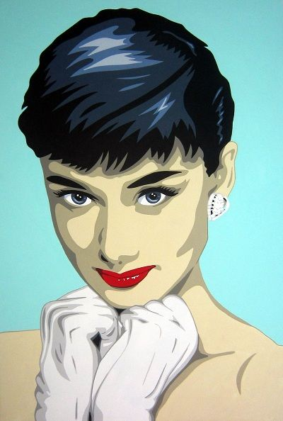 67 best audrey pop art images on pinterest artists - Cuadros audrey hepburn ...