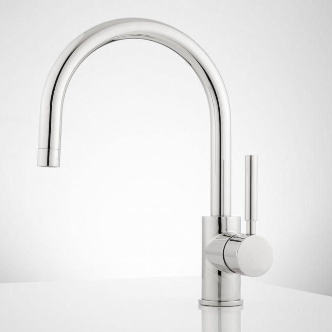 casimir single hole bathroom faucet