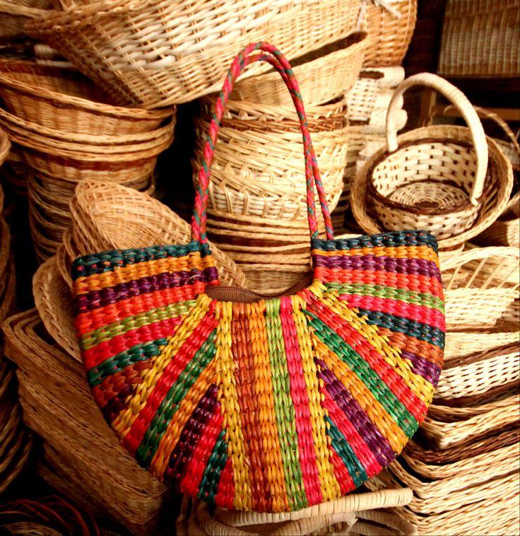 Striped Andean Purse