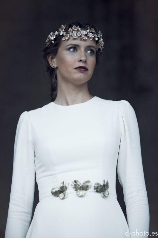 le touquet coronas novia la champanera novia romantica sole alonso asturias otoño boda 11