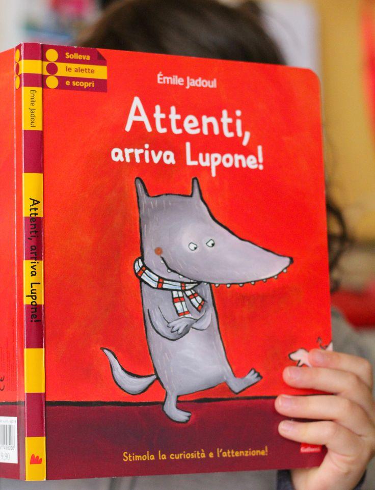 Attenti, arriva Lupone! Libro per bambini