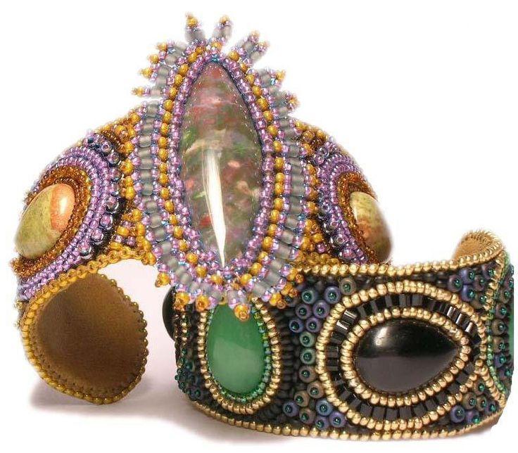 Вышивка бисером: браслеты | Дизайн украшений из бисера