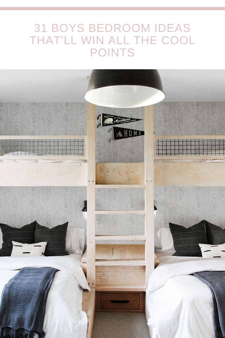 These Kids Bedroom Ideas Will Make You The Coolest Parent On The Block Bunk Bed Rooms Small Room Bedroom Bunk Beds With Stairs