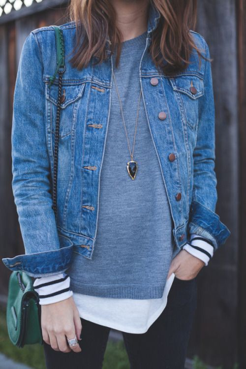 I love these layers. A simple, classic look.                                                                                                                                                      More