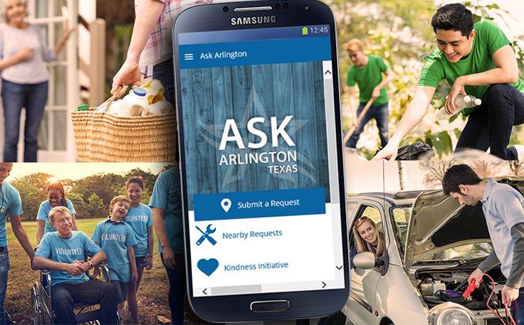 Spotlight Random Acts of Kindness in Community Through Ask Arlington App Read more: http://www.arlington-tx.gov/news/2017/06/27/spotlight-random-acts-kindness-community-ask-arlington-app/