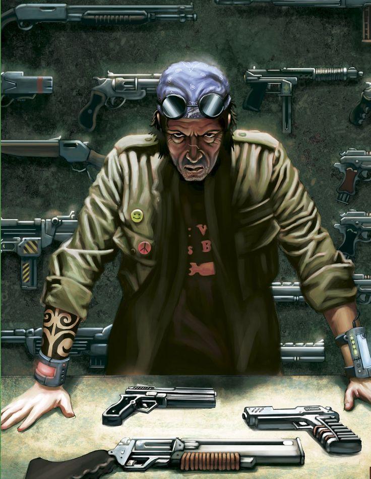 Vendeur armes