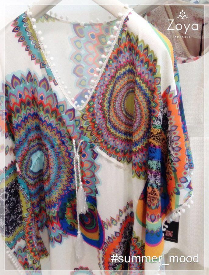 It's gettin' hot in here..! #kaftani #caftan #zoya #summer #heat #hot #colors #fashion #woman #ss2015 #ethnic #greek #design #style