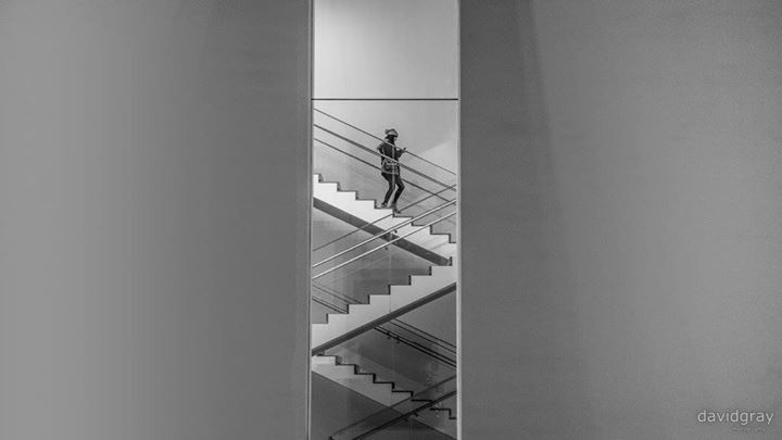 A large part of our second day in New York was spent uptown. We went to the Museum of Modern Art for a few hours and I snapped this shot on the second floor.   The whole museum was amazing and I wish we could have spent more time there because there was so much to take in.