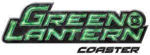 Green Lantern Coaster Logo