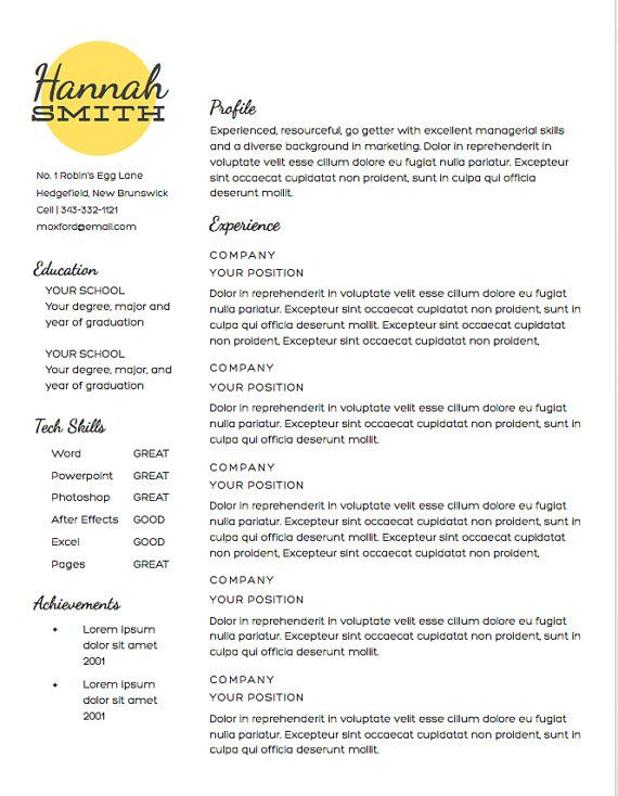 21 best Design images on Pinterest Resume templates, Carte de - non it recruiter resume