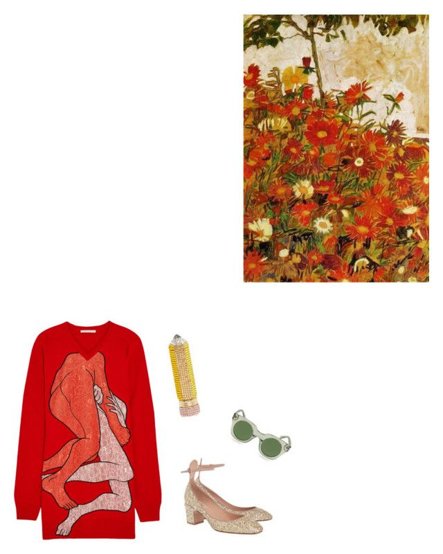 Pair Embracing by venus-in-fleurs on Polyvore featuring polyvore fashion style Christopher Kane Valentino Marc Jacobs clothing