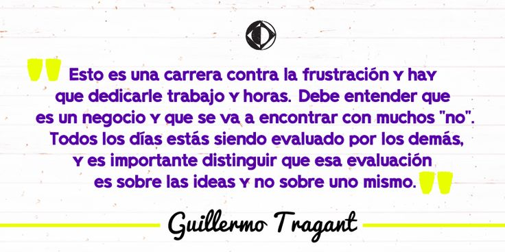 Guillermo Tragant es el fundador de la agencia Furia. #CreativoDixit