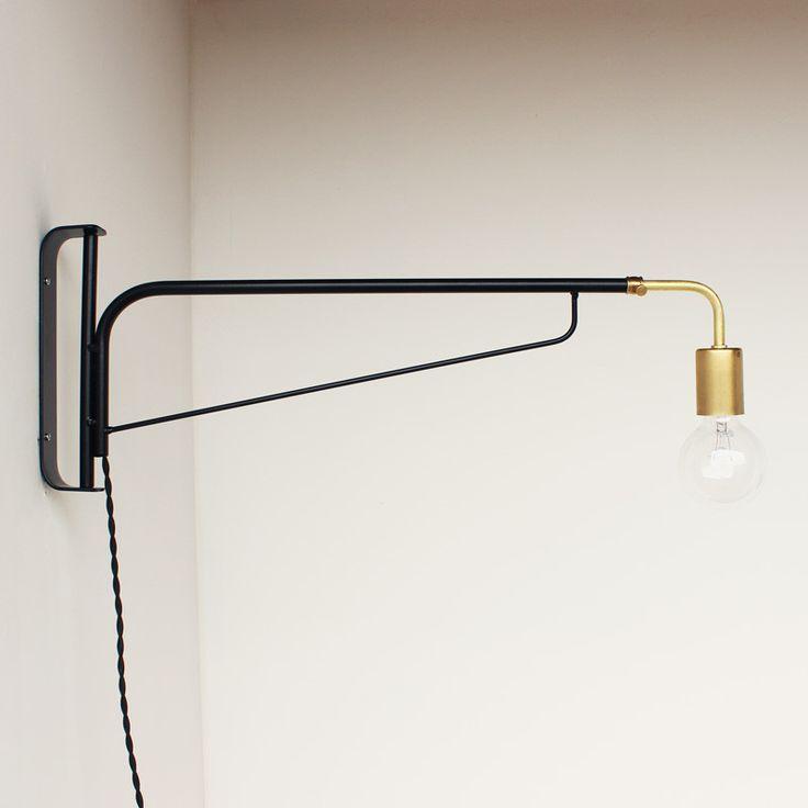 OneFortyThree Telescoping Otis Light // Perfect for over the breakfast bar
