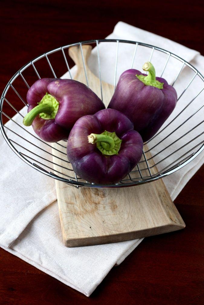 Mango & Tomato: Purple Pepper Confetti Salad: Eat The Rainbow!