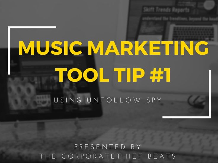 Music Marketing Tool Tip #1 with Unfollowspy