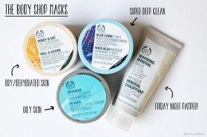 Loving - The Body Shop Masks!