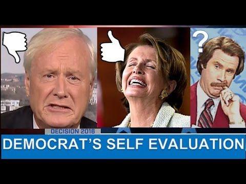 "Chris Matthews ""Dems Moving Too Far Left""; Pelosi in DENIAL - MSNBC Live..."