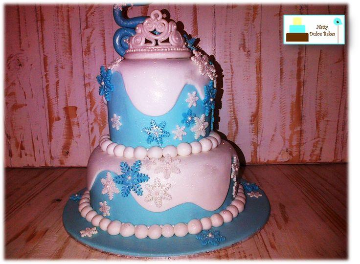 Frozen. Ice princess. Cake, Natty Dulce Bakes. https://www.facebook.com/nattydulcebakes/?ref=hl