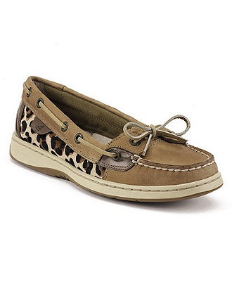 because even sperrys are cooler in animal print