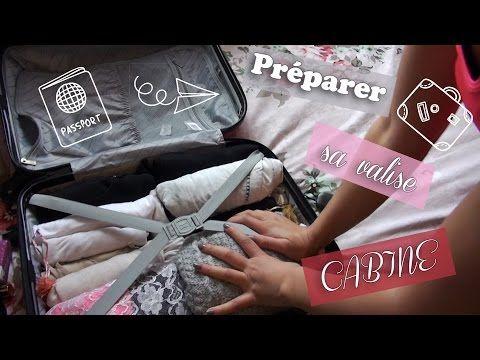 Astuce | Préparer sa valise cabine [Ryanair - EasyJet] - YouTube