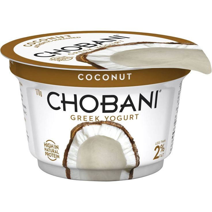 Chobani coconut greek yoghurt 170gms chobani greek