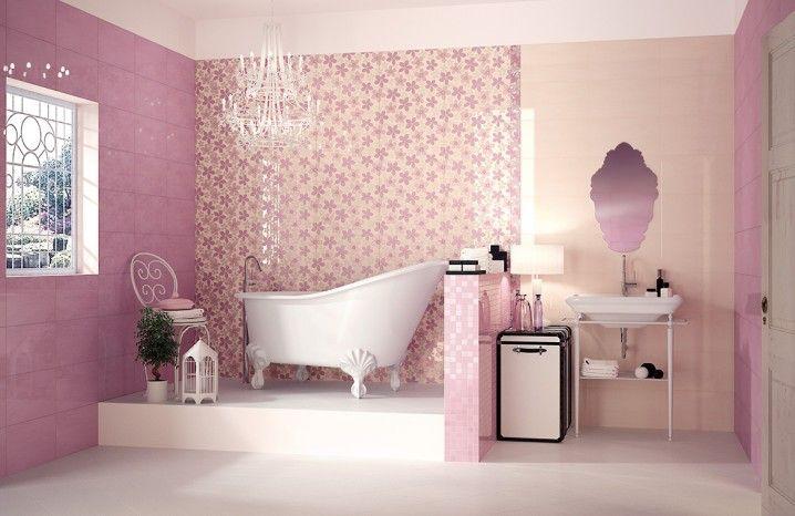 Cute Pink Bathroom Designs Girl Bathrooms Pink Bathroom Pink