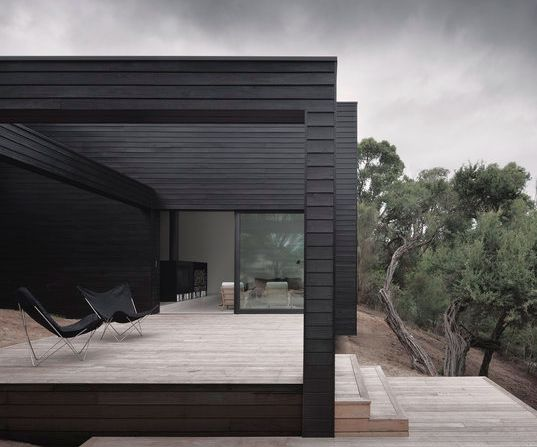 Blackhouse, Studios, Black House, Outdoor Room, Roads Resident, Architecture, Modern Home, Minimalist Home, Ridge Roads