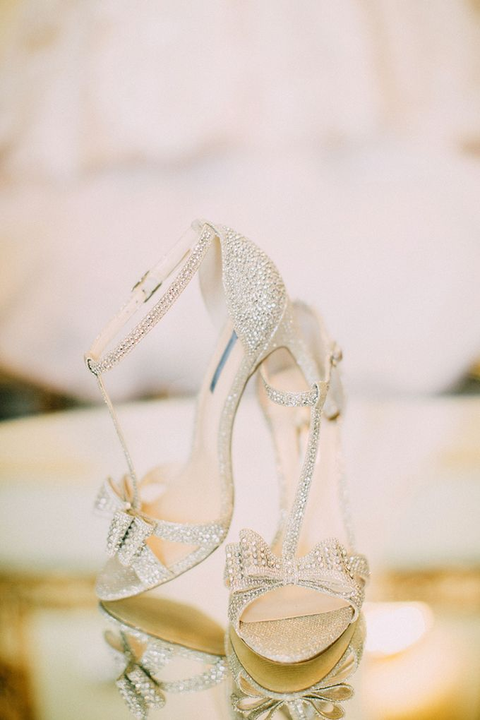 sparkle bow heels | Endless Exposures Photography | Glamour & Grace