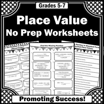 place value worksheets standard and expanded form 5th grade math review place value. Black Bedroom Furniture Sets. Home Design Ideas