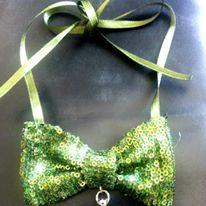 Colier papion  Bowtie necklace  https://www.facebook.com/Anna-Bijoux-860575383999728