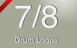 7/8 loops pack covers styles such as progressive rock, fusion and some pop.