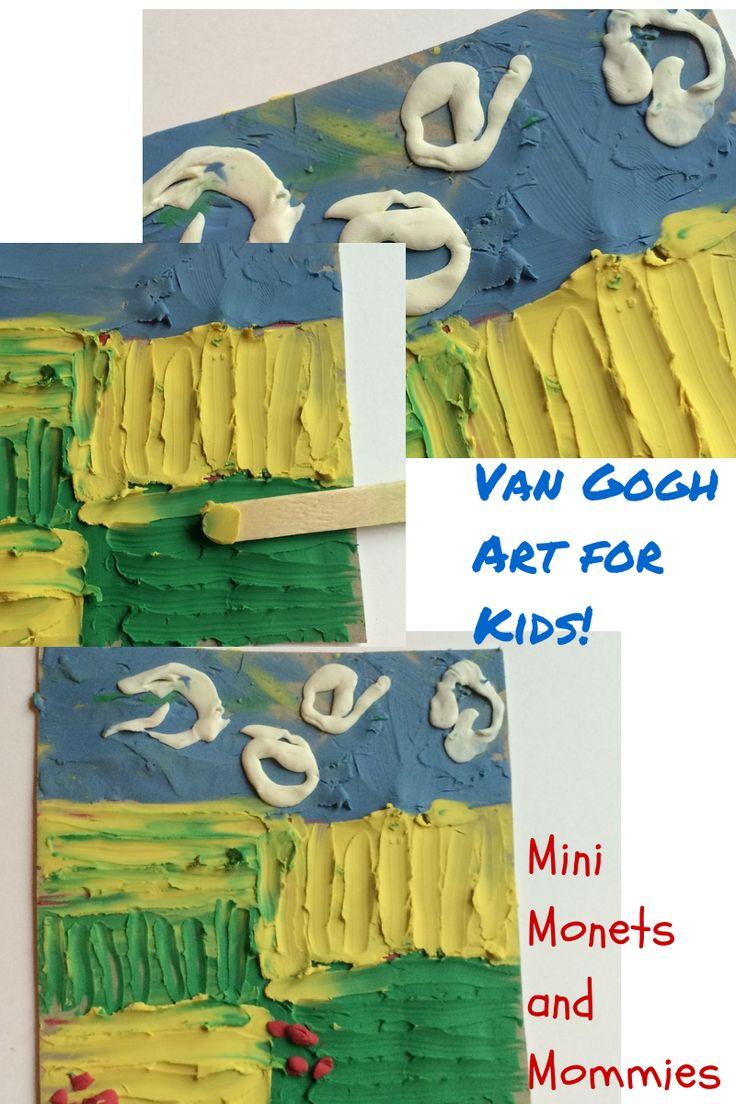 Van Gogh clay art!