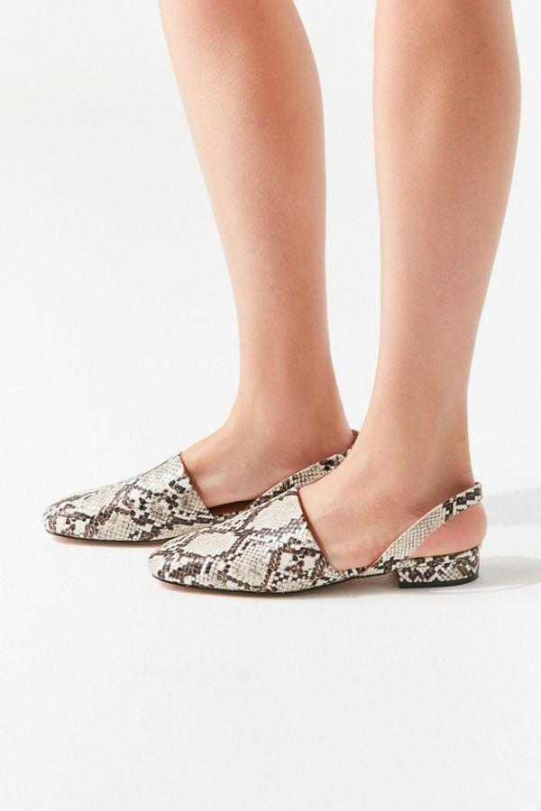 5ac4017e294ec UO Dana Snake Slingback Mule in 2019 | Shoes Shoes Shoes | Shoes ...