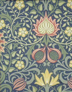 """""""Persian"""", Wallpaper Sample Book, William Morris and"""