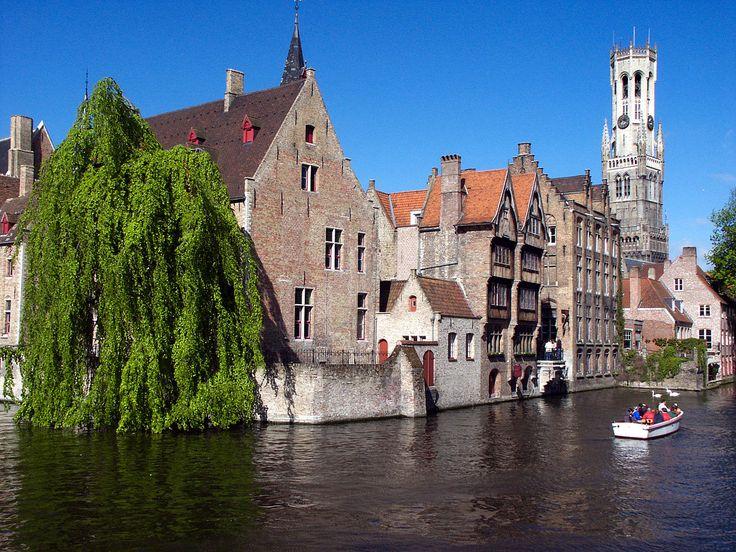 Brugge-CanalRozenhoedkaai - Brugge - Wikimedia Commons