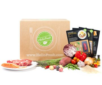 HelloFresh farm fresh ingredients + easy to follow recipes   Fabulous and unique Father's Day gift idea!