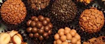 """Brigadeiro - Brazilian FOOD 1 can sweetened condensed milk  2 spoons (soup) margarine  4 tablespoons (soup) of chocolate powder   Place the margarine in a pan and let it melt (high heat), after melting, throw the chocolate powder.  Soon after playing the chocolate lower the heat, throw the condensed milk and stir to form a thick """"gravy"""" (5-10 minutes)"""