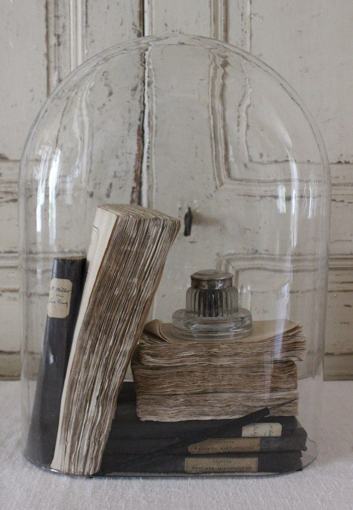 bell jar with book