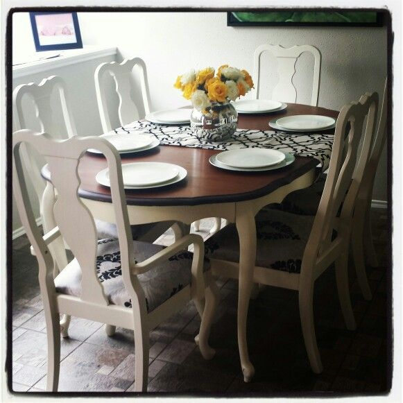 A Craigslist Kitchen Redo: Best 25+ Refinished Dining Tables Ideas On Pinterest